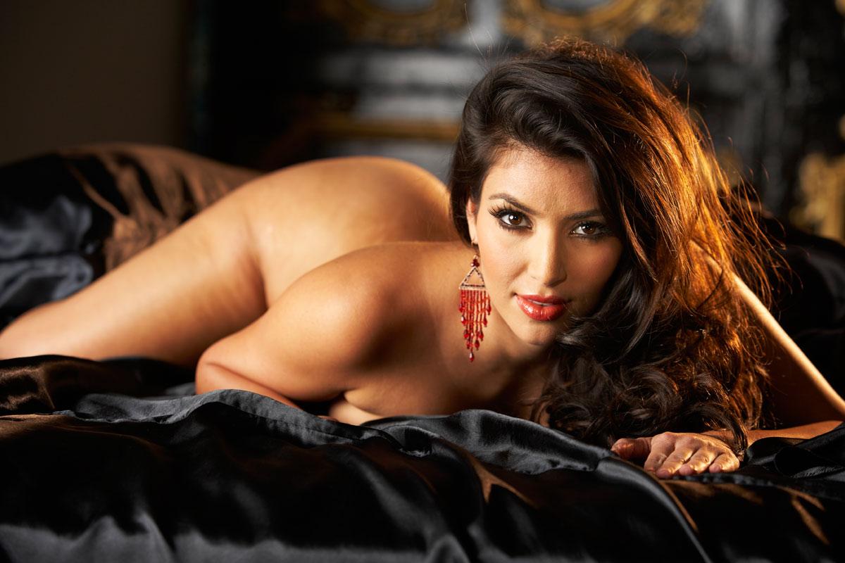 Naked Kim Kardashian West In Playboy Magazine Ancensored