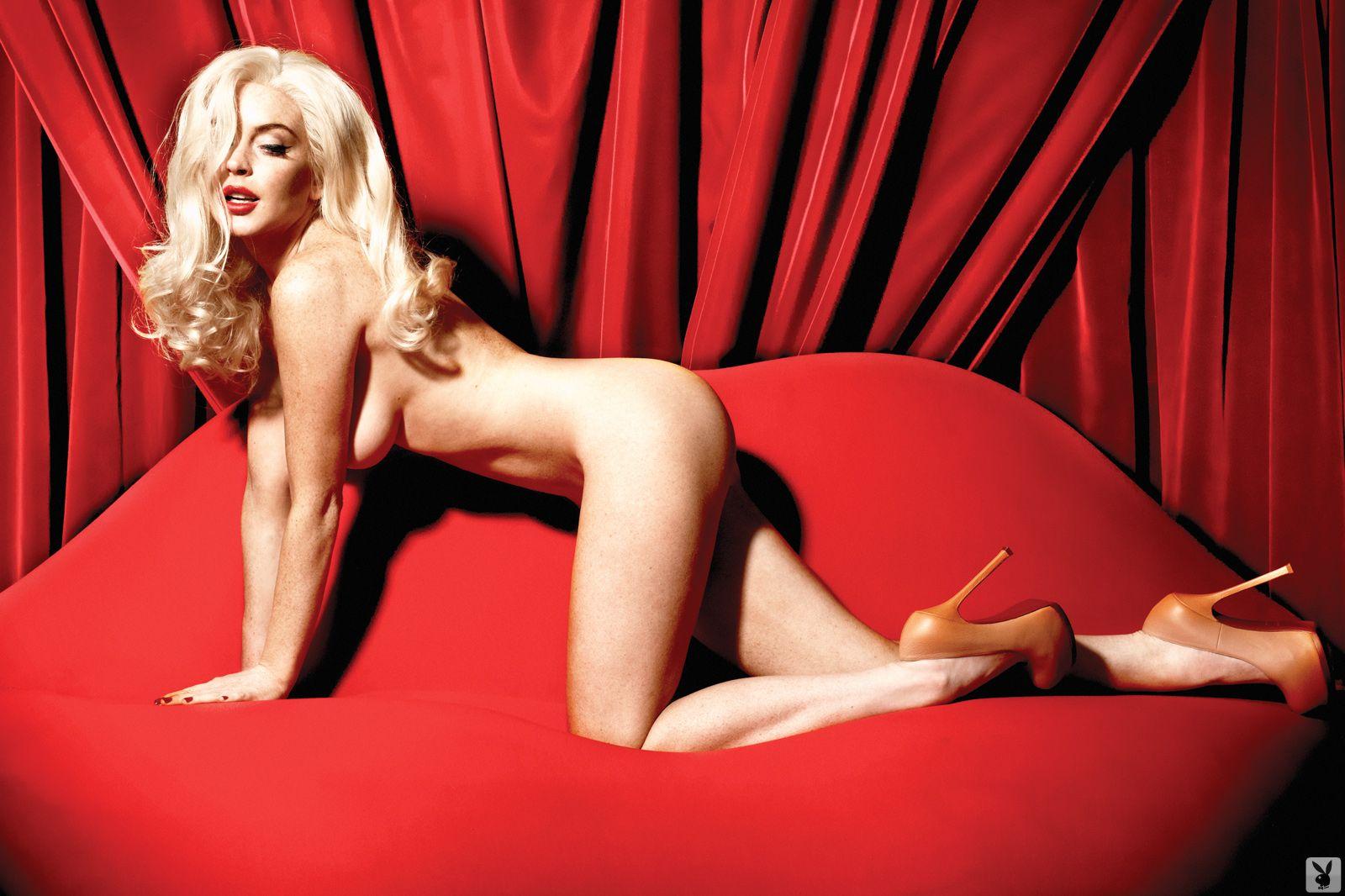 Lindsay Lohan Ass Slip