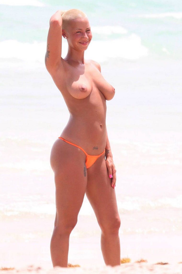 Amber rose uncensored leaked photos